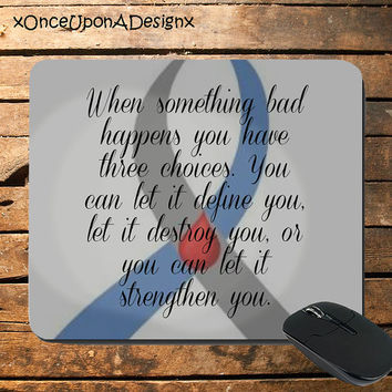 Custom made Diabetes Awareness Mousepad Diabetes Awareness Apparel Type 1 Diabetes Type 2 Diabetes Awareness