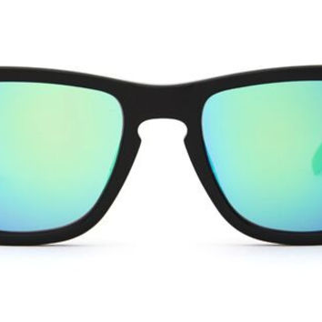 RILEY - BLACK FRAME - BLUE MIRROR LENS