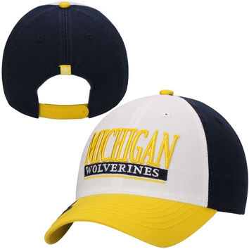 Michigan Wolverines adidas Slouch Adjustable Snapback Hat – Gold