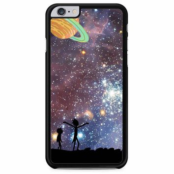 Rick And Morty Galaxy P iPhone 6 Plus/ 6S Plus Case