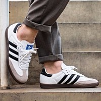ADIDAS SAMBA OG WHITE CORE BLACK SHOES BB2588 Size 7 8 9 11 12 13 gazelle nmd y3