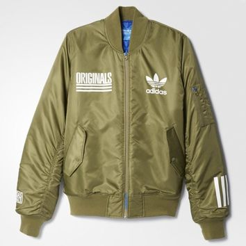 Adidas Men Fashion Casual Cardigan Jacket Coat-42