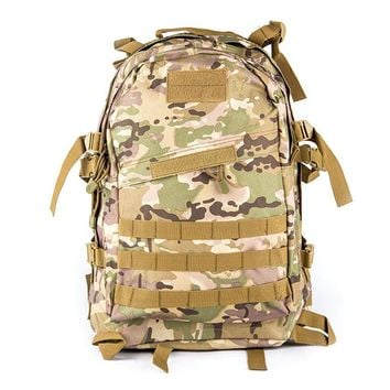 Military Camouflage Tactical Assault Backpack.