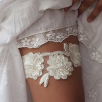 Wedding Garter, Wedding,Stretch Lace Garter,