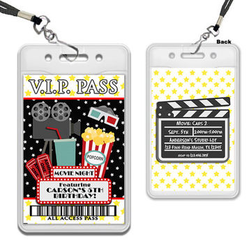 Best Movie Night Birthday Invitations Products on Wanelo