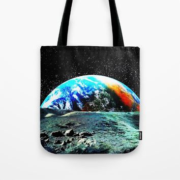 Mother Earth Tote Bag by Azima