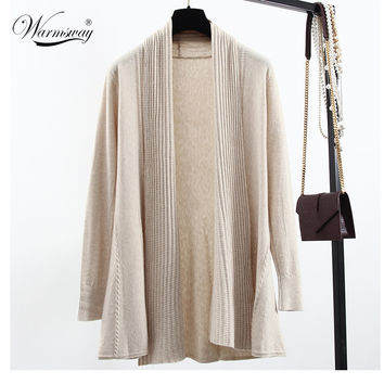Quality guarantee Peplum Blusa Autumn Winter Poncho Crochet Knit Tops angora wool Twist Sweater Women Cardigans Coat WS-137