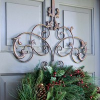 Iron Wreath Hanger - Plow & Hearth