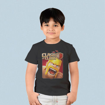 Kids T-shirt - Clash of Clans COC Barbarian