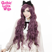 Gothic Lolita Wigs® <br>Classic Wavy Lolita™ Collection - Dusty Plum -00245