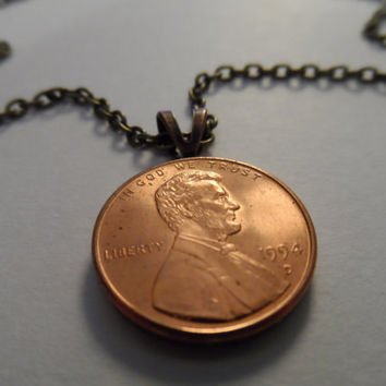 Lucky Penny Necklace - Customizable
