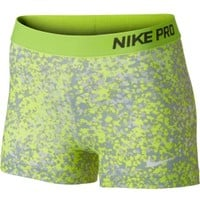 """Nike Women's Pro Core 3"""" Printed Compression Shorts Dick's Sporting Goods"""