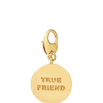 Kate Spade True Friend Charm Gold ONE