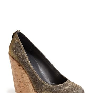 "Women's Stuart Weitzman 'Corkswoon' Wedge, 4 1/2"" heel"