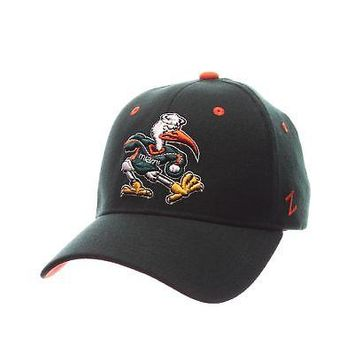 Licensed Miami Hurricanes Official NCAA ZHS X-Small Hat Cap by Zephyr 943199 KO_19_1