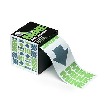 Mine Sticky Roll Sign Adhesive and Re-positionable Tape