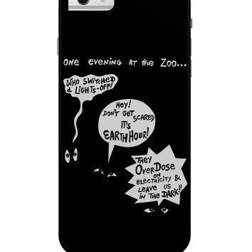 Zoo Animal Conversation During Earth Hour iPhone 6 / 6S Case