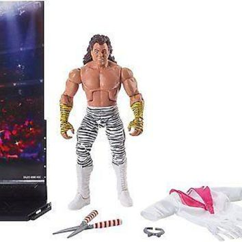 WWE Brutus Beefcake The Barber Action Figure Elite 49 Mattel Toy NEW