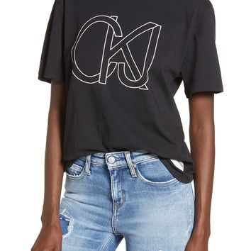 Calvin Klein Jeans Easy Graphic Tee | Nordstrom