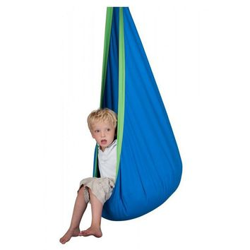 Kid Hammock Swing Baby  Child Hanging Seat Chair Cotton  Inflatable Cushion Furniture Outdoor Hammock