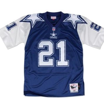 KUYOU Dallas Cowboys Jersey - Deion Sanders Throwback Jerseys