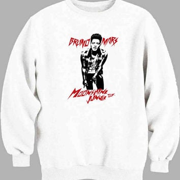 Bruno Mars Moonshine Jungle Tour Sweater for Mens Sweater and Womens Sweater *