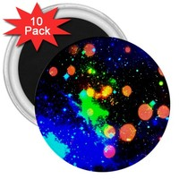"""Cosmic Scenery 3"""" Magnets (10 pack) 3"""" Magnet (10 pack)"""