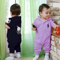 Baby Rompers Clothes Newborn One-Piece Layette Sport Infantil Jumpsuit Boy Girl Summer Set Cute Kids Clothing [7959406151]