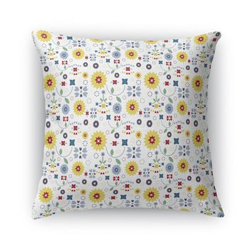 COUNTRY COTTAGE GARDEN Accent Pillow By Heidi Miller