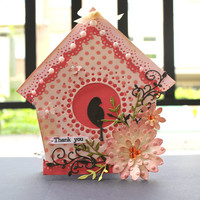 Bird house Card - Customize
