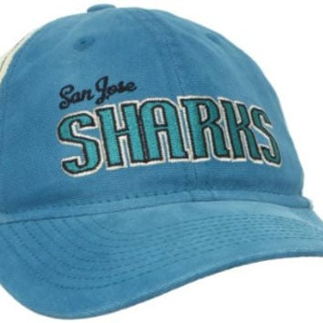 NHL San Jose Sharks Women's Slouch Mesh Snapback Adjustable Hat, One Size