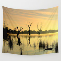 Nature's Beauty Wall Tapestry by Chris' Landscape Images Of Australia