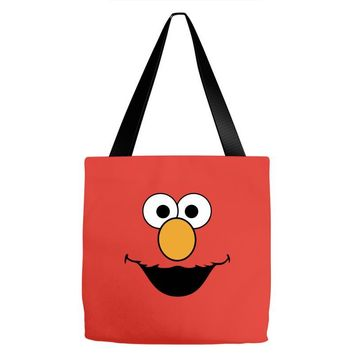 Cookie Monster Elmo Tote Bags