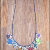 Five Nights at Freddy's Chibi Animatronics Charm Necklace
