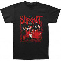 Slipknot Band Frame T-shirt - Slipknot - S - Artists/Groups - Rockabilia