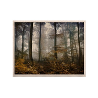 "Iris Lehnhardt ""Forest Mystics"" Brown Gray KESS Naturals Canvas (Frame not Included)"