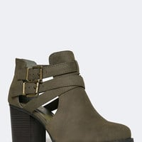 WESTERN CUTOUT BOOTIE