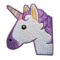 Unicorn patch - iron on patch - embroidered unicorn applique for jackets, shirts, bags, hats, backpacks