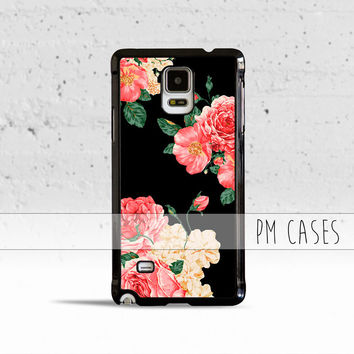 Large Carnations Floral Case Cover for Samsung Galaxy S3 S4 S5 S6 S7 Edge Plus Active Mini Note 3 4 5 7