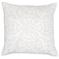 Z Gallerie - Bellissimo Pillow 18 - White