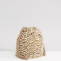 ASOS Beaded Embellished Clutch Bag