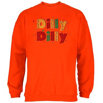 Cinco De Mayo Dilly Dilly Fiesta Mexican Party Mens Sweatshirt