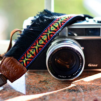 Fire Bohemian Camera Strap for DSLR / SLR Quick Release by iMoShop
