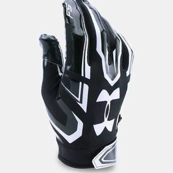 Under Armour Boys UA 2017 F5 Youth Football Receivers Gloves - Many Colors