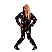 KISS Do You Love Me Drop Seat Adult Pajamas | World's Best PJ's