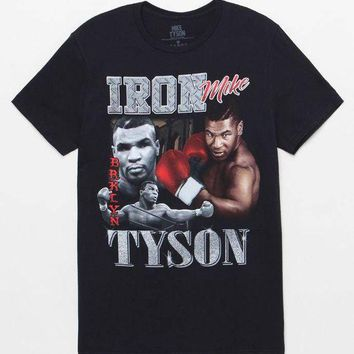 ICIKJH6 Mike Tyson Collage T-Shirt