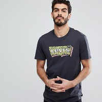 Levi's Bright Batwing Logo T-Shirt in Black at asos.com