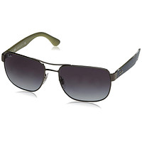 Ray-Ban Mens 0RB3530 Square Polarized Sunglasses