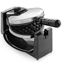Bella 13991 Polished Stainless Steel Rotary Waffle Maker | macys.com