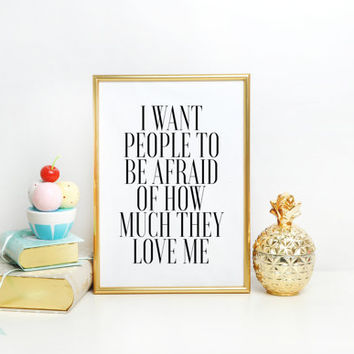 The Office  Michael Scott TV Quote Inspirational quote Home decor Gift Idea Typographic print Typography quote Wall artwork Quote Print